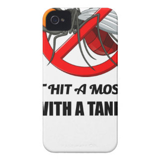 o mosquito não o bate com um tanque capinha iPhone 4