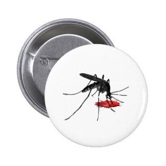 O mosquito suga bóton redondo 5.08cm