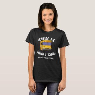 O motorista de auto escolar engraçado isto é como camiseta