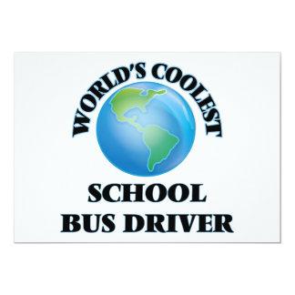 O motorista de auto escolar o mais fresco do mundo convite personalizados