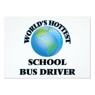 O motorista de auto escolar o mais quente do mundo convite personalizado