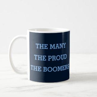 O muitos. O orgulhoso. Os filho do baby-boom. Caneca De Café