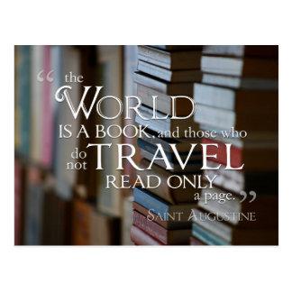 O mundo é um CARTÃO do livro