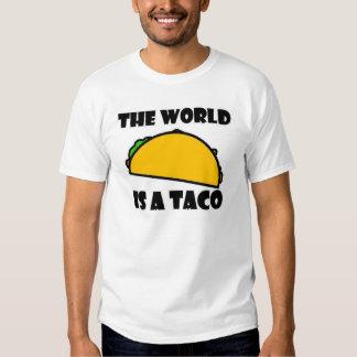 O mundo é um Taco Tshirts