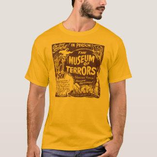 O museu do poster da mostra do susto do vintage camiseta