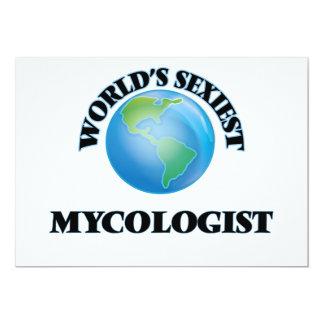 """O Mycologist o mais """"sexy"""" do mundo Convites"""
