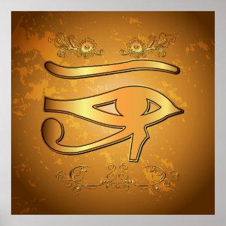 O mystical todo o olho de vista poster
