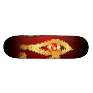 O mystical todo o olho de vista skates