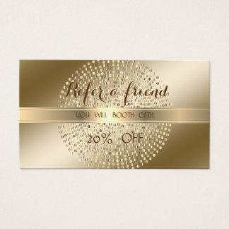 O na moda elegante, brilhante, pontilha o cartão