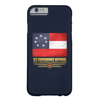 ø Nacional confederado Capa Barely There Para iPhone 6