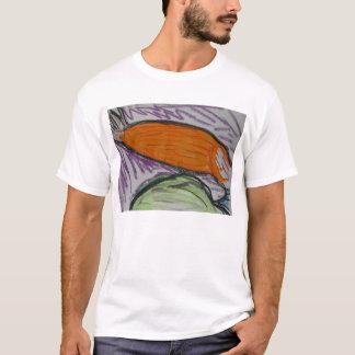 O nadador camiseta