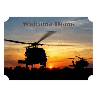 o nam Iraque da força aérea do marinho do exército Convite 12.7 X 17.78cm
