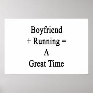 O namorado mais o funcionamento iguala uma grande poster