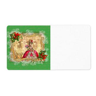 O Natal de Marie Antoinette etiqueta Tag Etiqueta De Frete