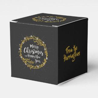 O Natal deseja a caixa conhecida feita sob