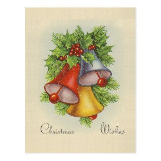 O Natal deseja o cartão