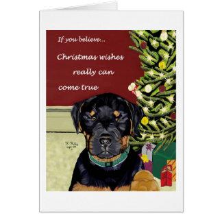 O Natal deseja o texto do cartão w/inside