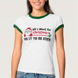 O Natal engraçado acabe-se T-shirts