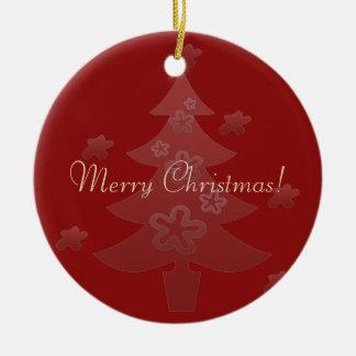 O Natal feito sob encomenda deseja o ornamento do
