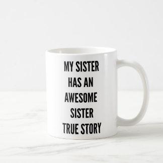 O Natal minha irmã tem uma irmã impressionante Caneca De Café