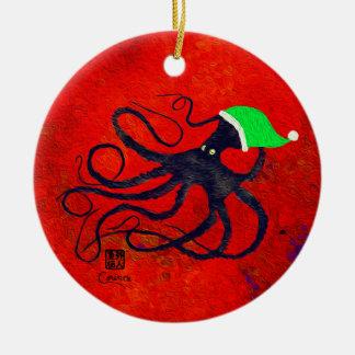 O Natal Octo de Sybille - ornamento do círculo