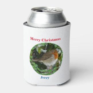 O Natal pode refrigerador Porta-lata