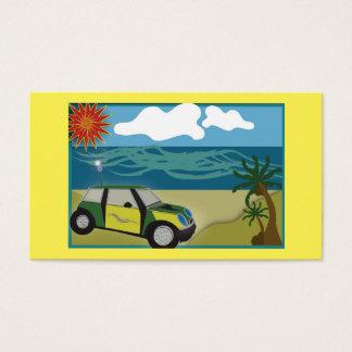 """O negócio, 3,5"""" x 2,0"""", 100 embala MINI FÉRIAS Cartão De Visitas"""