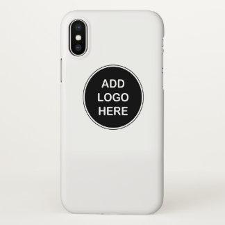 O negócio substitui o design do logotipo capa para iPhone x