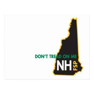 O NH não pisa em mim o cartão