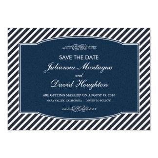 O nó do marinheiro - cartões salve a data convite personalizado