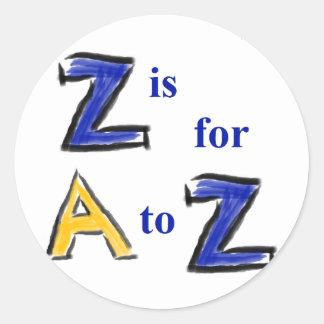 """O nome nomeia sobretudo a etiqueta """"Z """""""