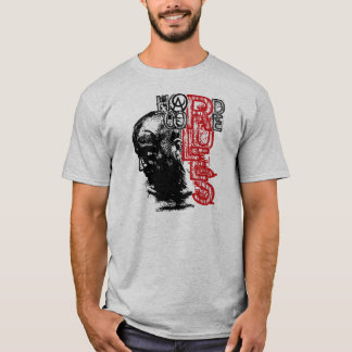 O núcleo duro de Amoura ordena o t-shirt da cinza Camiseta