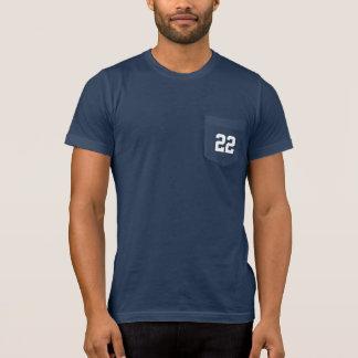 O número feito sob encomenda do jérsei ostenta o camiseta