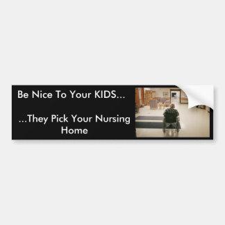 o nursing_home, seja agradável a seus MIÚDOS…,… el Adesivo Para Carro