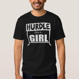 O obstáculo gosta de uma menina t-shirts