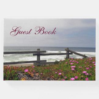 O oceano floresce o livro de hóspedes