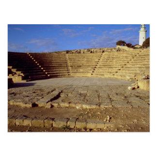 O Odeon, Paphos, Chipre Cartão Postal