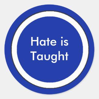 !   O ódio de UCreate é ensinado Adesivos Em Formato Redondos