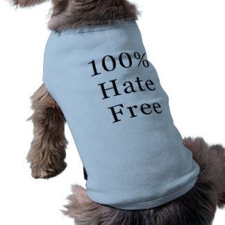O ódio livra a camiseta de cão