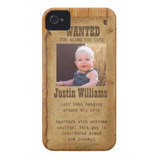 O oeste velho quis o poster capas para iPhone 4 Case-Mate