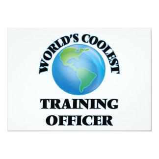 O oficial o mais fresco do treinamento do mundo convites