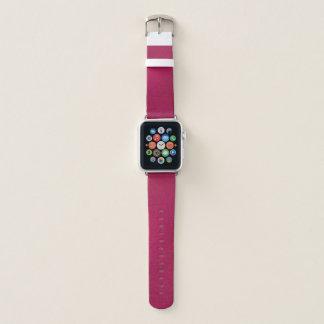 O olhar metálico cor-de-rosa chique Apple olha a