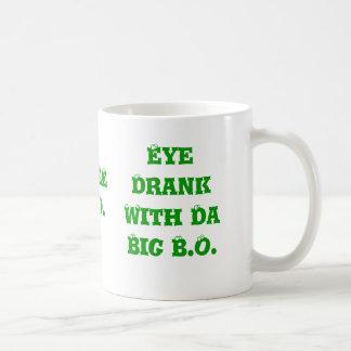 O olho bebeu com a Dinamarca B.O. grande, OLHO BEB Canecas