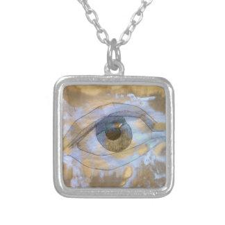 O olho da colar misturou-se com a luz - textura de
