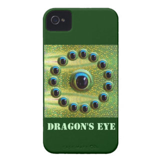 O olho do dragão chinês afortunado - MATARÁ o MAU Capa Para iPhone