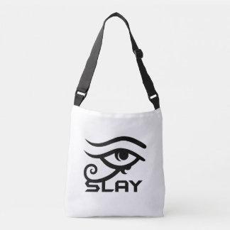 O olho massacra o bolsa transversal do corpo