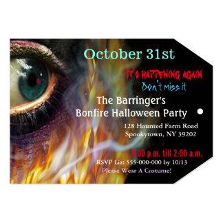 O olho mau da fogueira arde o convite 2 VIP do Dia