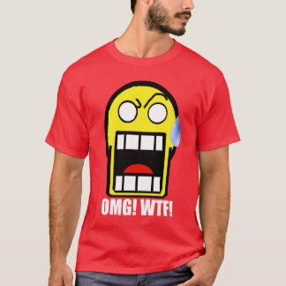 O OMG! Cara Smily Camiseta