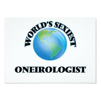 """O Oneirologist o mais """"sexy"""" do mundo Convite Personalizado"""