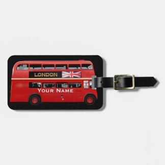 O ônibus de Londres Tag De Bagagem